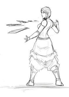 Korra metal bending by Sketchydeez on DeviantArt Avatar Aang, Team Avatar, Avatar The Last Airbender, Drawing Reference Poses, Drawing Poses, Metal Bending, Conduit Bending, Water Bending, Poses References
