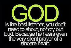 Love this, I'm not great on being at church but I know I pray like this!