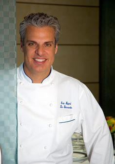 He's just beautiful, a fabulous chef, and he manages to be sensitive but completely honest on Top Chef.