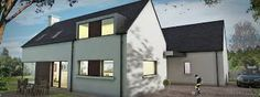 Image result for exteriors of contemporary irish homes Houses In Ireland, Farmhouse Renovation, Modern Farmhouse, Building A House, House Plans, Exterior, House Design, Contemporary, Architecture