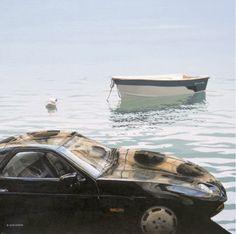 Boat and cars  Rineke Engwerda