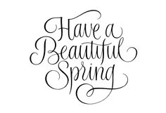 Have a Beautiful Spring #tanyacherkiz #letters #lettering #handlettering #typography #dailytype #sketches