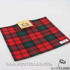 Kerr Modern Tartan Handkerchief