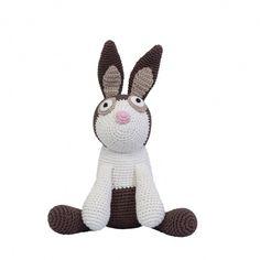 Sebra crochet rabbit