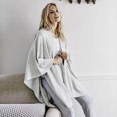 Rib Blanket Knit