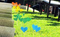 Paper Rainbow Wedding DIY