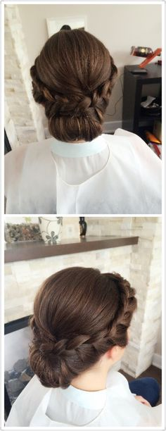 Braids--what is in trend now--wedding hair by Sherry Hu