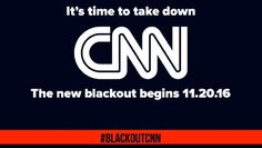 """We have a dishonest North Korea-style, government-run, propaganda media that exists to be the far left-wing of the globalist movement. They are a methodical machine that pumps out a constant stream of ideological garbage disguised as """"unbiased"""" news. One of the biggest offenders is CNN. Not only are they an agenda-driven shill machine, but thanks to Wikileaks we also know that they're colluding with the DNC and Democrat candidates. They're a shameless FRAUD. And these idiots have the…"""