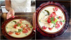 Oryginalna zupa tajska green curry