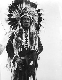 Strong Eagle Feathers - Coeur d'Alene - 1913