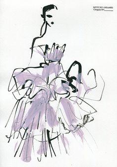 Giambattista Valli Fall 2016 Couture »instagram Art Alevel, Dorm Art, Funky Art, Hippie Art, Silhouette, Art Plastique, Graphic Illustration, Art Inspo, Art Drawings