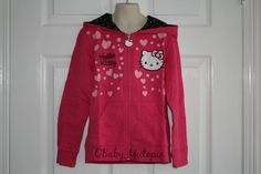 NEW Hello Kitty Kids Children Clothing Set Girls Pink Hoodie Pants Size 7 to 8 Children Clothing, Outfit Sets, Pink Girl, Christmas Sweaters, Hello Kitty, Kids Outfits, Hoodies, Girls, Pants
