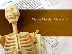Math Murder Massacre! Inspired by the math murder mystery series, this version includes a modified mystery for students to solve using mathematics, non-verbal reasoning & computing skills (cryptography).