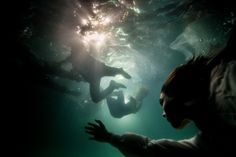 Red Lips, black suits, cocktail dresses and moments suspended in mid-air are a signature of Celebrity photography Tyler Shield's work. He does it again, and this time underwater, in his new series Submerged. Underwater Photos, Underwater Photography, Conceptual Photography, Tyler Shields, The Scorpio Races, Golden Age Of Piracy, Black Sails, Pirate Life, Film Aesthetic
