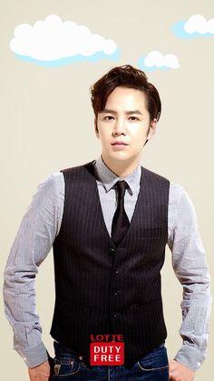 Lotte Duty Free *looking soooooo mighty handsome! Jang Geun Suk, New Actors, Love Rain, Star Wallpaper, Ji Chang Wook, Pretty Men, Beautiful Love, My Prince, Prince Charming