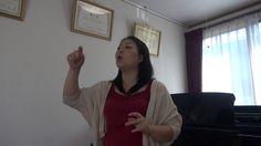 Kei Ohkuma private lesson Vocal music lecture Vol. 009 「Sakura4」  Soprano, Kei Ohkuma lecture clarity about how to sing the song ♡ Vol.010 is coming November 25.   大熊径のプライベートレッスン 声楽編 Vol.009 さくら4  ソプラノ歌手、大熊径が歌の歌い方について解りやすくレクチャー♡ Vol.009ではさくらの歌について解説している。