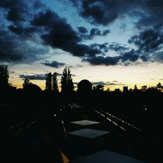 #sunset at #pergola #wroclaw #wroclove #wrocław #dolnyśląsk #dolny #slask #sky #clouds #niebo #chmury #dusk #zachod #slonca #piekny #vscocam #vscopoland #colours #kolory