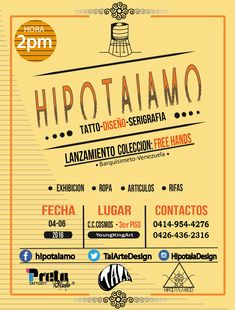 #HipotalamoArt #Design #Flyer