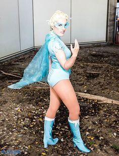 Superhero Elsa