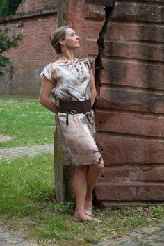 """Sommerkleid """"Africa"""" edle Seide - anmutig und leicht"""