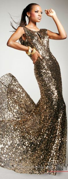 Gold Sequined Long Prom Dresses 2013 by Tony Bowls Tony Bowls, Prom Dress 2013, Dresses 2013, Prom Dresses, Bridesmaid Dress, Beautiful Gowns, Beautiful Outfits, Gorgeous Dress, Mode Glamour