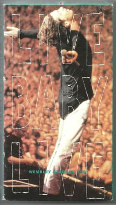 INXS: Live Baby Live - love this album and dvd!!