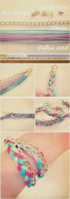 DIY : Plaited Bracelet | DIY & Crafts Tutorials