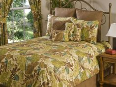 Victor Mill Bahia Bedding - Best Sales and Prices Online! Home Decorating Company has Victor Mill Bahia Bedding Palm Tree Bedding, Tropical Bedding, King Bedding Sets, Twin Comforter, Bed In A Bag, Bed Spreads, Comforters, Pillows, Bedroom