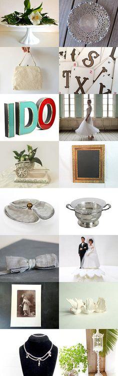 Dreamy Vintage Wedding by VintageAndMain on Etsy #VintageWedding
