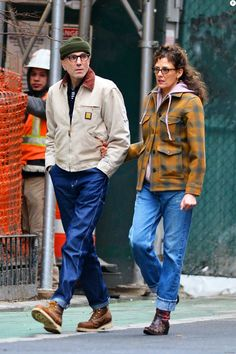 Couple Style, Mature Mens Fashion, Rebecca Miller, Concert Wear, Daniel Day, Day Lewis, Work Jackets, Work Suits, Hollywood Actor