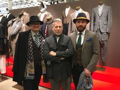 Encountering Nick Wooster, at the launch of his collection in collaboration with Lardini. Cool Street Fashion, Street Style, Nick Wooster, Style Snaps, January 2016, Collaboration, Product Launch, Mens Fashion, Collection