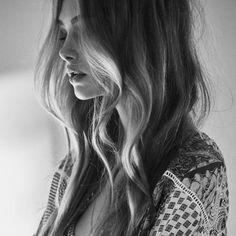 Sunnie Brook | Air Dried Hair