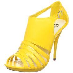 Michael Antonio Women's Tremain Yellow heels from $22.94