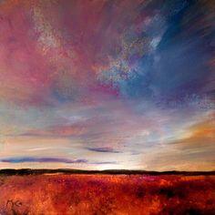 "Saatchi Online Artist Kirstin McCoy; Painting, ""Evening Colours"" #art"