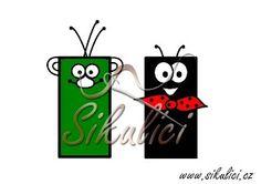 Rákosníček a Ferda mravenec z ruliček od toaletního papíru