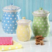 Take a look at the Polka Dot Delight: Kitchen Accents event on #zulily today!
