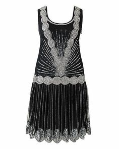 Frock & Frill Zelda Flapper Dress (£135)