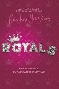 """""""Royals was exactly what I wanted from a beach read at home: simmering tension, hilarious rapport, and all the indulgent scenarios built on the perfect tropes."""" Review of Royals by Rachel Hawkins"""