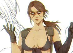 Quiet by Woxy Metal Gear Games, Metal Gear Solid Series, Metal Meme, Mgs V, Retro Video Games, Gears, Ocelot, Fanart, Anime