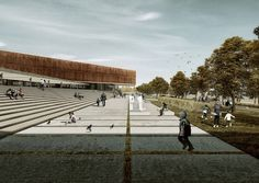 Gallery of Proposal For A Transparent Museum in Cyprus Rethinks The Urban Square - 2