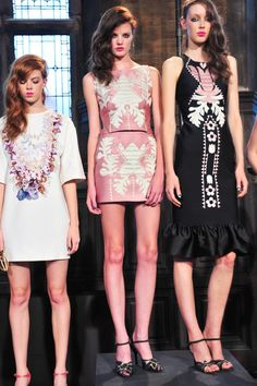 SPRING 2014 RTW Cynthia Rowley COLLECTION - i love the black dress!