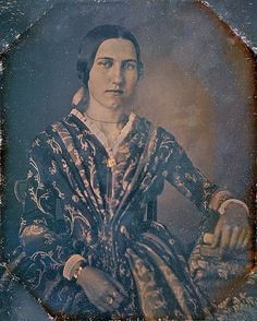 Beauty, 1/6th-Plate Daguerreotype, Circa 1844 by lisby1, via Flickr
