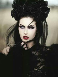 #Goth face