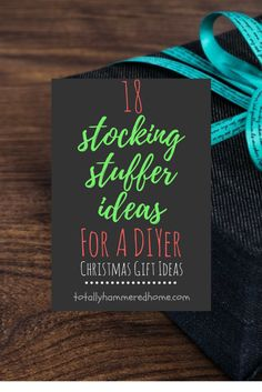 18 Stocking Stuffer Ideas for a DIYer Diy Christmas Gifts, Christmas Fun, Do It Yourself Projects, Stocking Stuffers, Gift Ideas, Group, Board, Tips, How To Make