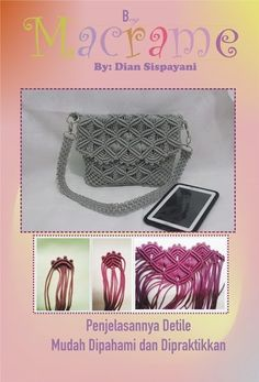 House of Macrame: cara mengkombinasikan warna dalam tas macrame Macrame Curtain, Macrame Bag, Macrame Necklace, Macrame Jewelry, Macrame Dress, Paracord Weaves, Knot Braid, Micro Macramé, Macrame Design