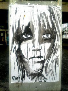 Konny - street art, paris 2 rue st merri