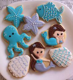 Cookies fundo do mar by Vanilla Art Cookies