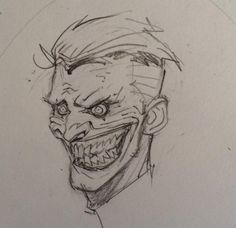 greg capullo joker sketch - Google Search