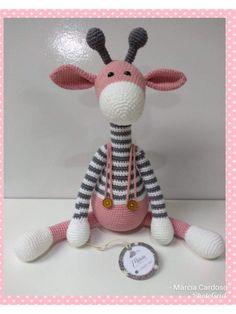 Amigurumi Giraffe Crochet, Crochet Baby Toys, Crochet Bear, Crochet Patterns Amigurumi, Crochet Animals, Easy Amigurumi Pattern, Crochet Amigurumi, Amigurumi Doll, Crochet Dolls
