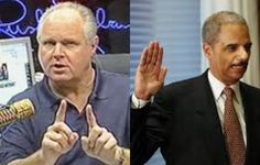 If Rush Limbaugh's thoughts on Holder's resignation turn out to be true, America is in BIG TROUBLE!!!